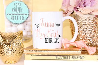 Future Mrs Wedding Engagement Mug