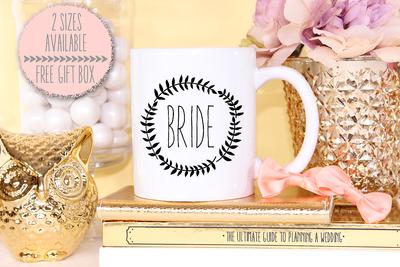 Funky Bride Wedding Engagement Mug