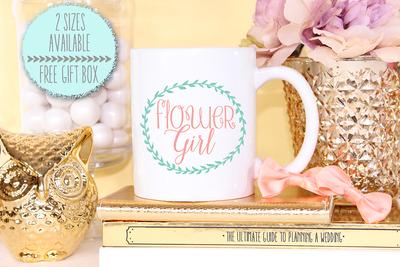 Flower Girl -Bridal Party Mug