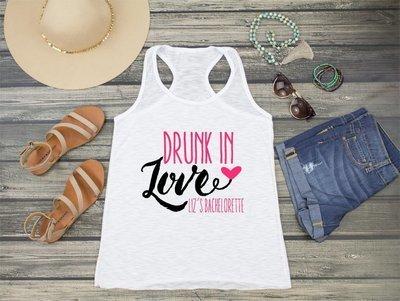 Drunk in Love Racerback Tank Top