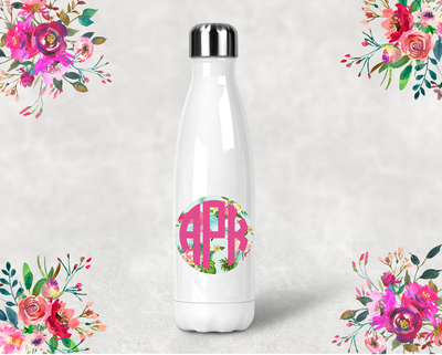 Personalized Monogram Bridal Party Water Bottle -Swell Style Water Bottle