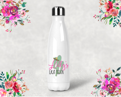 Last Fiesta Bachelorette Party Water Bottle -Swell Style Water Bottle