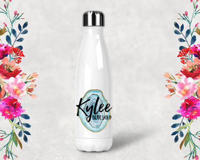 Agate Personalized Bridal Party Water Bottle -Swell Style Water Bottle