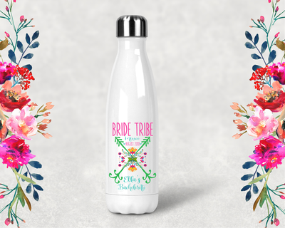 Bride Tribe Bachelorette Party Water Bottle -Swell Style Water Bottle