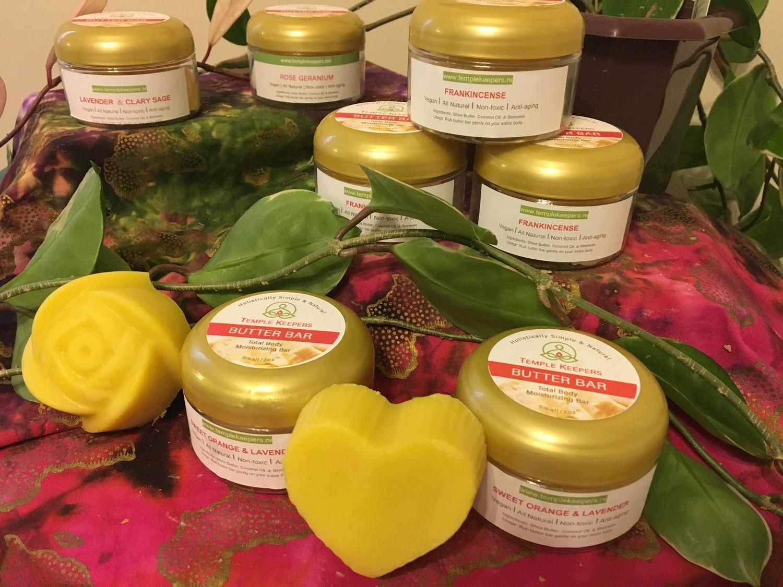 Entrepreneur Special - 3 Large Butter Bars, 1 Dead Sea Salt FREE