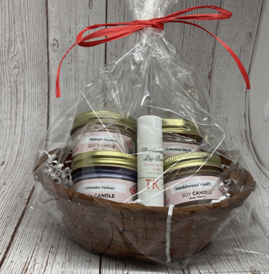 United in Love 2021 - Soy Candle Gift Basket - 4 oz.