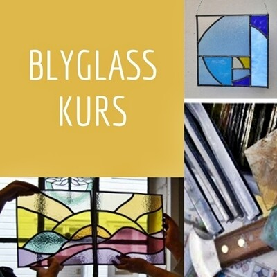 Blyglass Prøvesmakskurs  / Stained Glass Taster Day