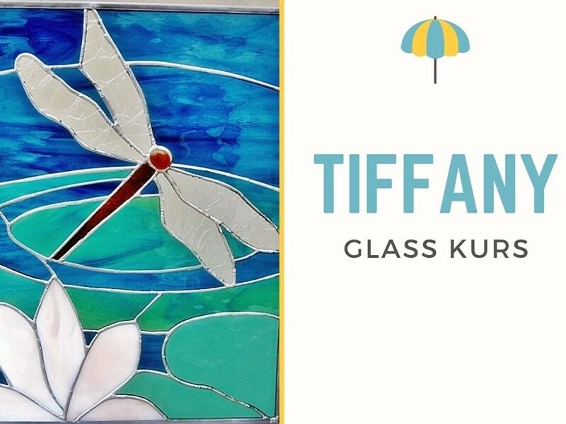 2 dagers kurs : TIFFANY GLASSMALERI
