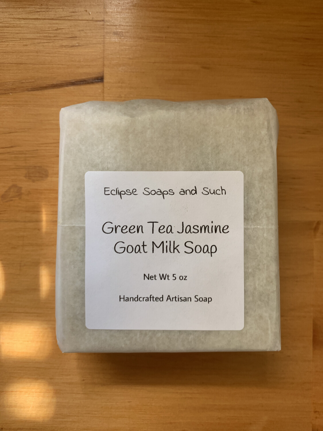 Green Tea Jasmine Goat Milk Soap 5oz