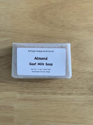 Almond Goat Milk Soap Travel Size