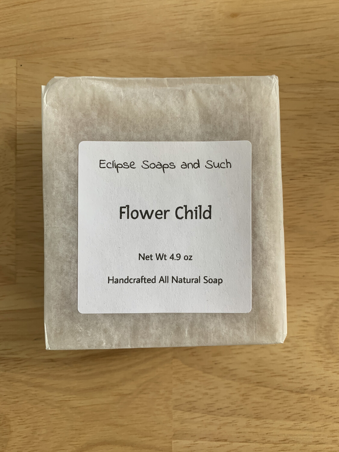 Flower Child 5oz Natural Soap