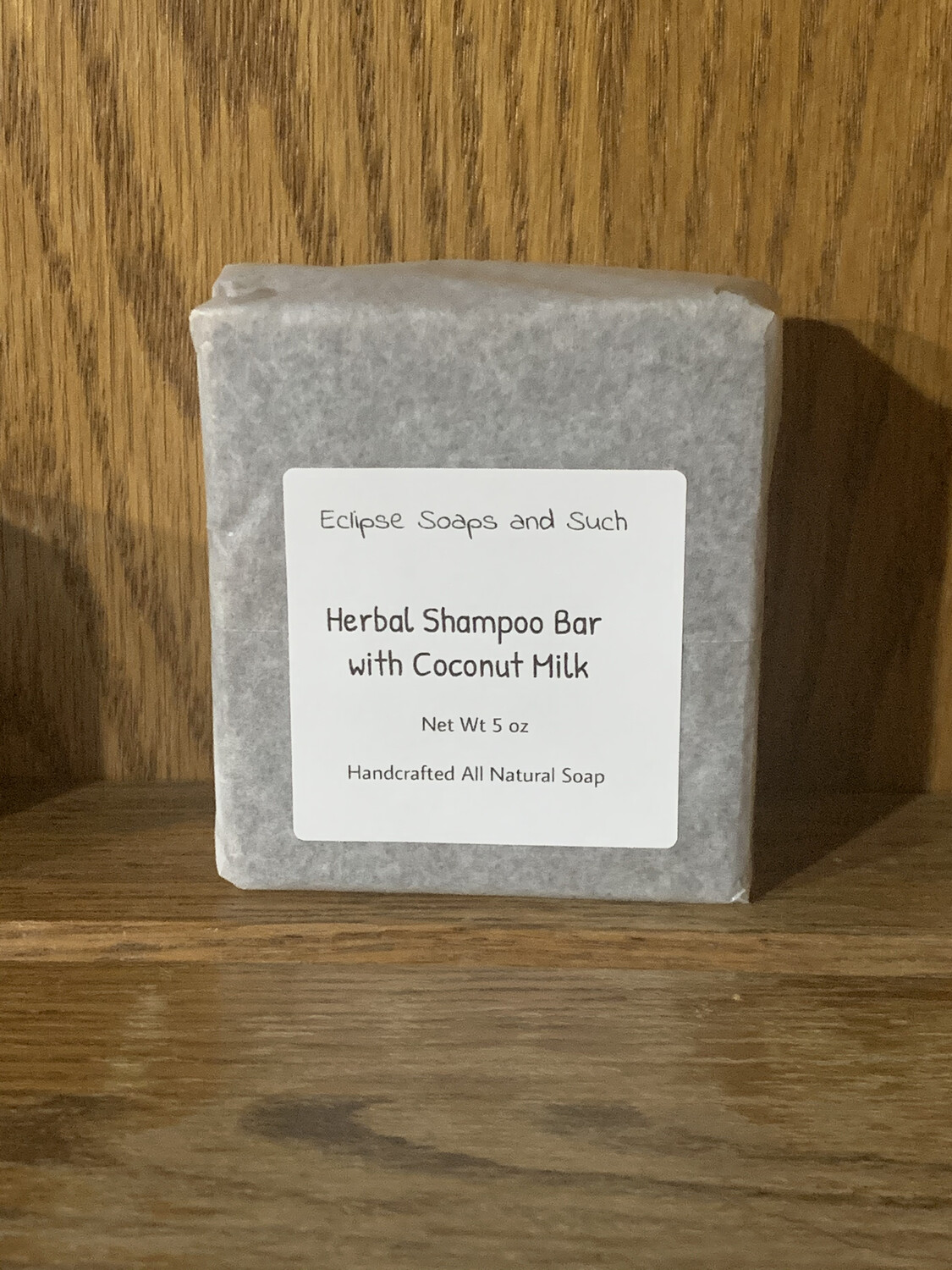Herbal Shampoo Bar with Coconut Milk