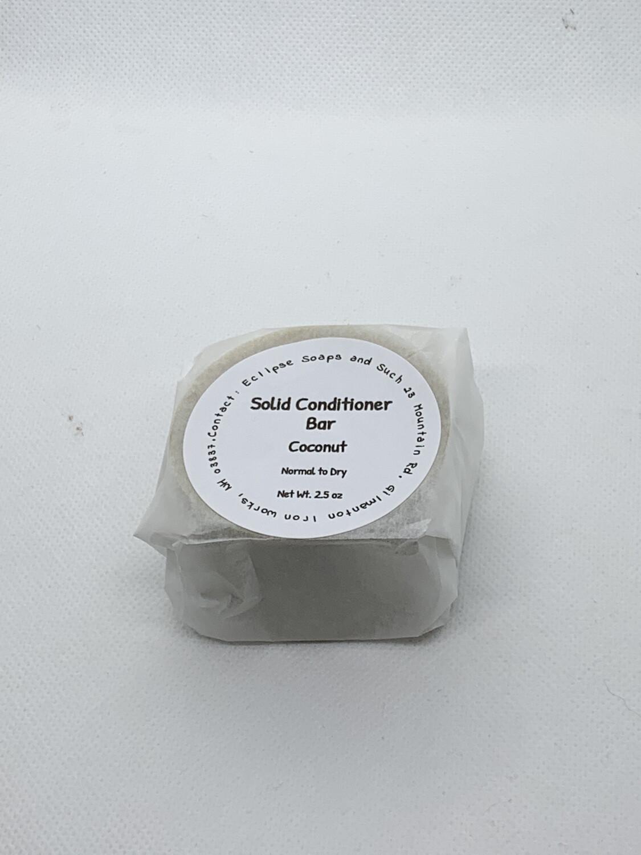 Solid Conditioner Bar Coconut 2.5oz