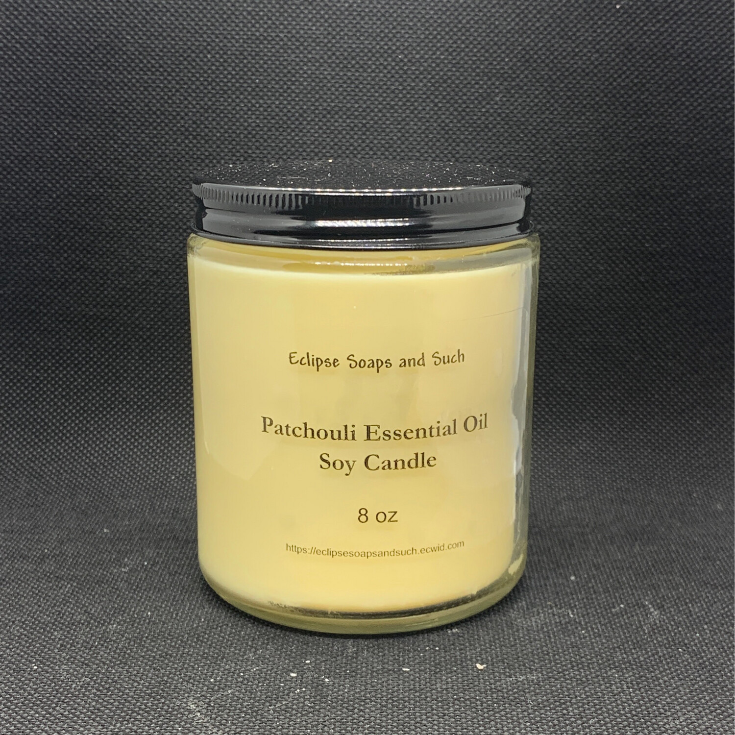 Patchouli Essential Oil Soy Candle 8oz