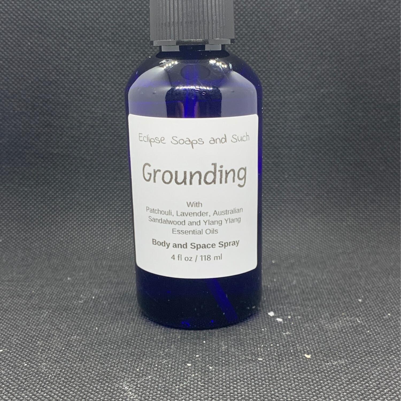 Grounding Body And Space Spray 4oz