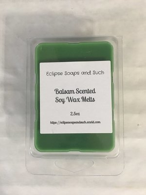 Balsam Scented Scented Soy Wax Melts 2.5oz
