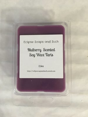Mulberry Scented Soy Wax Melts 2.5oz