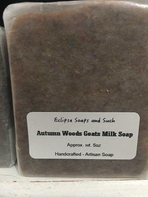 Autumn Woods Goat Milk Soap 5oz