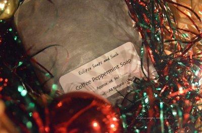 Coffee Peppermint Soap Vegan Friendly 5oz