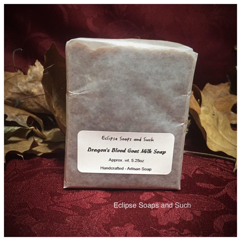 Dragon's Blood Goats Milk Soap 5.4 oz