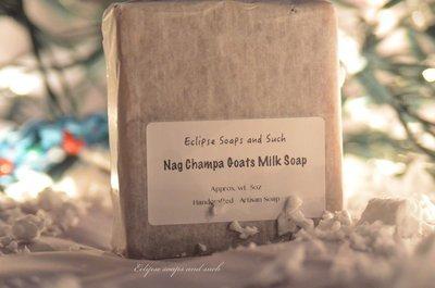 Nag Champa Goat Milk Soap 5oz