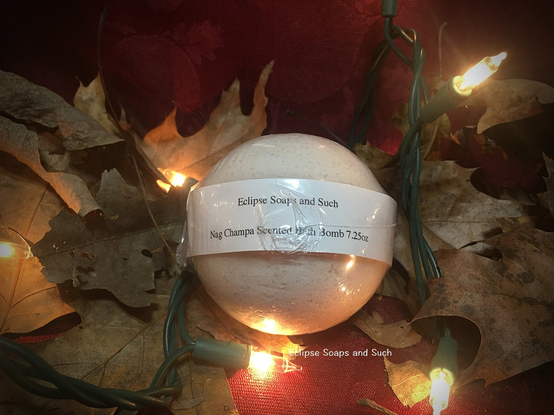 Nag Champa Scented Bath Bomb 7.25oz
