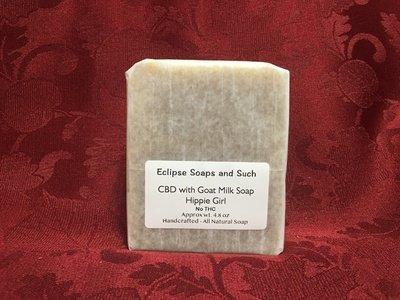 CBD with Goats Milk Soap Hippie Girl 4.8oz