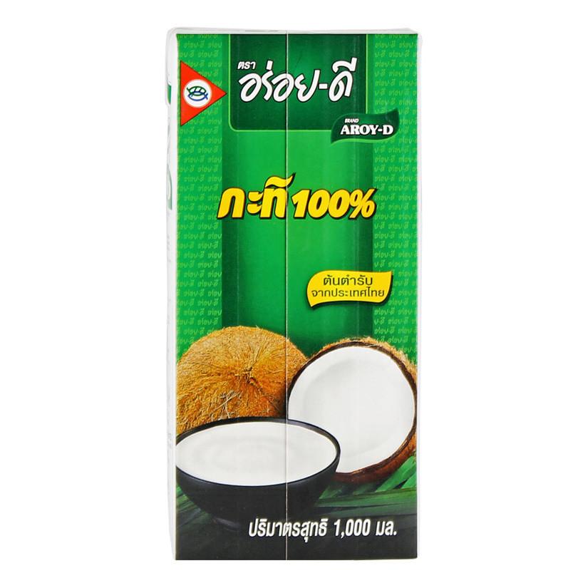 Кокосовое молоко (жир. 18,5%) АРОЙ Д, 1л