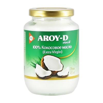 Масло кокосовое, экстра вержин, АРОЙ Д, стекло 450мл