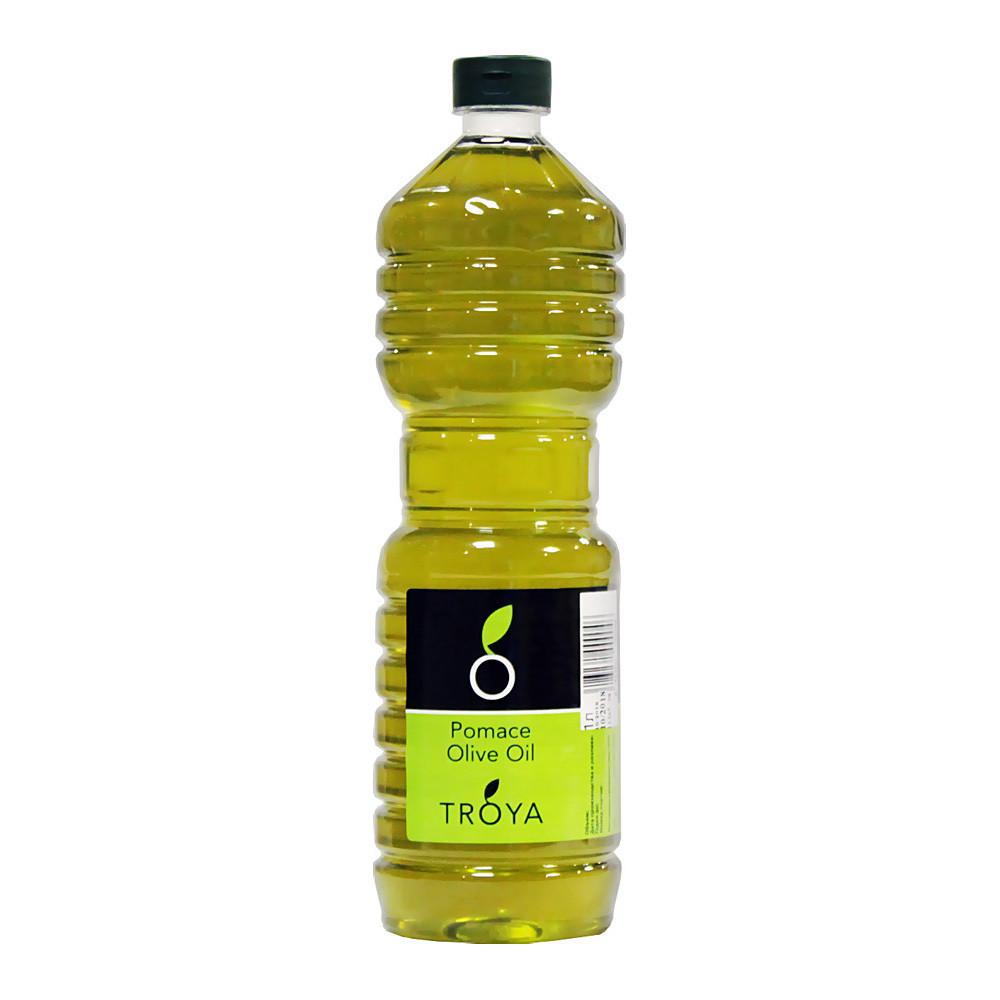 Масло оливковое помас (второй отжим), ТРОЯ, 1л