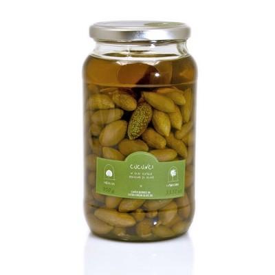 Каперсы, плоды в оливковом масле, ЛА НИКЬЯ, стекло 950г