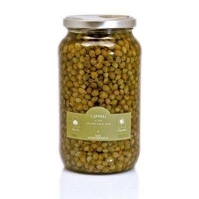 Каперсы, мини в оливковом масле, ЛА НИКЬЯ, стекло 950г