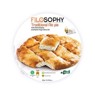 Пирог греческий Филло с сыром фета и оливковым маслом, ФИЛОСОФИ, 850г