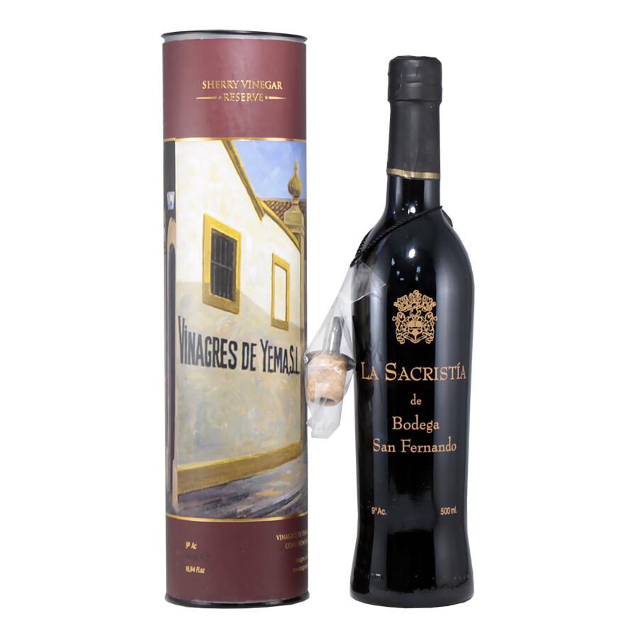 Уксус из хереса (D.O.P.) ЛА САКРИСТИЯ, бутылка в тубе, 500мл
