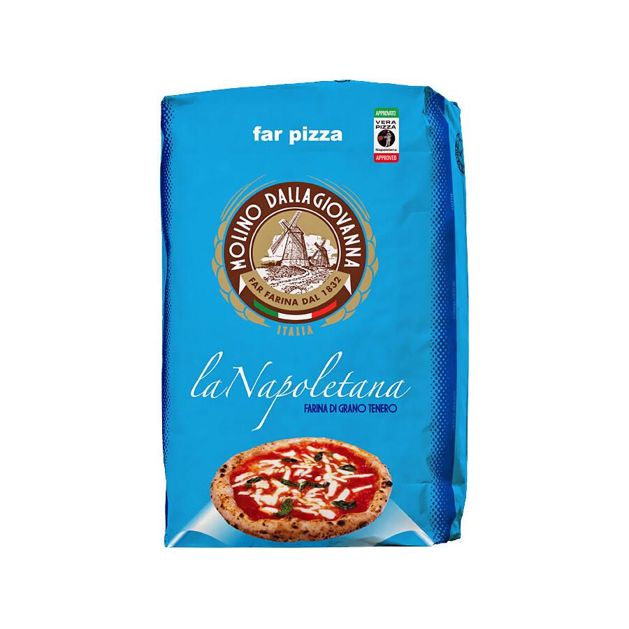 Мука для пиццы, Ла Наполетана-00 (W-310), MOLINO DALLAGIOVANNA, 25кг