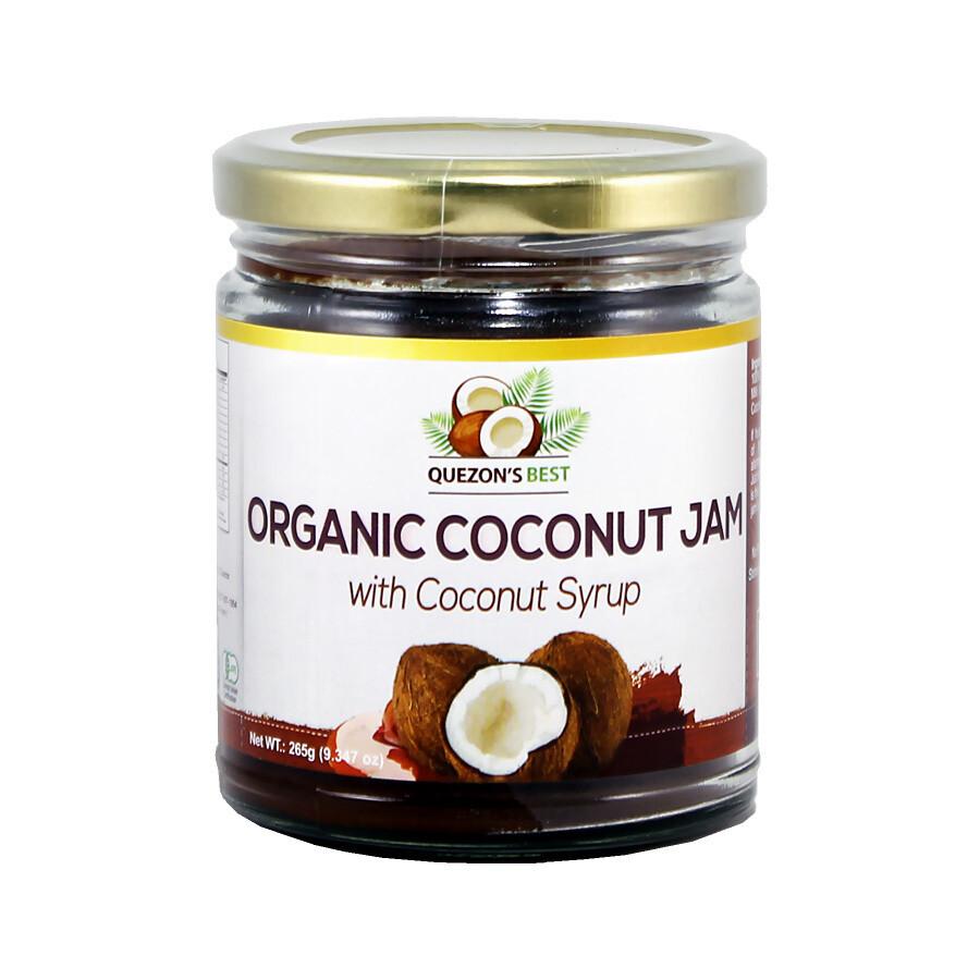 Кокосовый джем с кокосовым сиропом (органик), КЕЗОНС БЭСТ, 265г