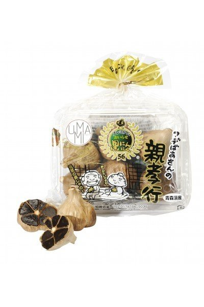Чеснок черный из Аомори (Aоmori black garlic), УМАМИ, 150г