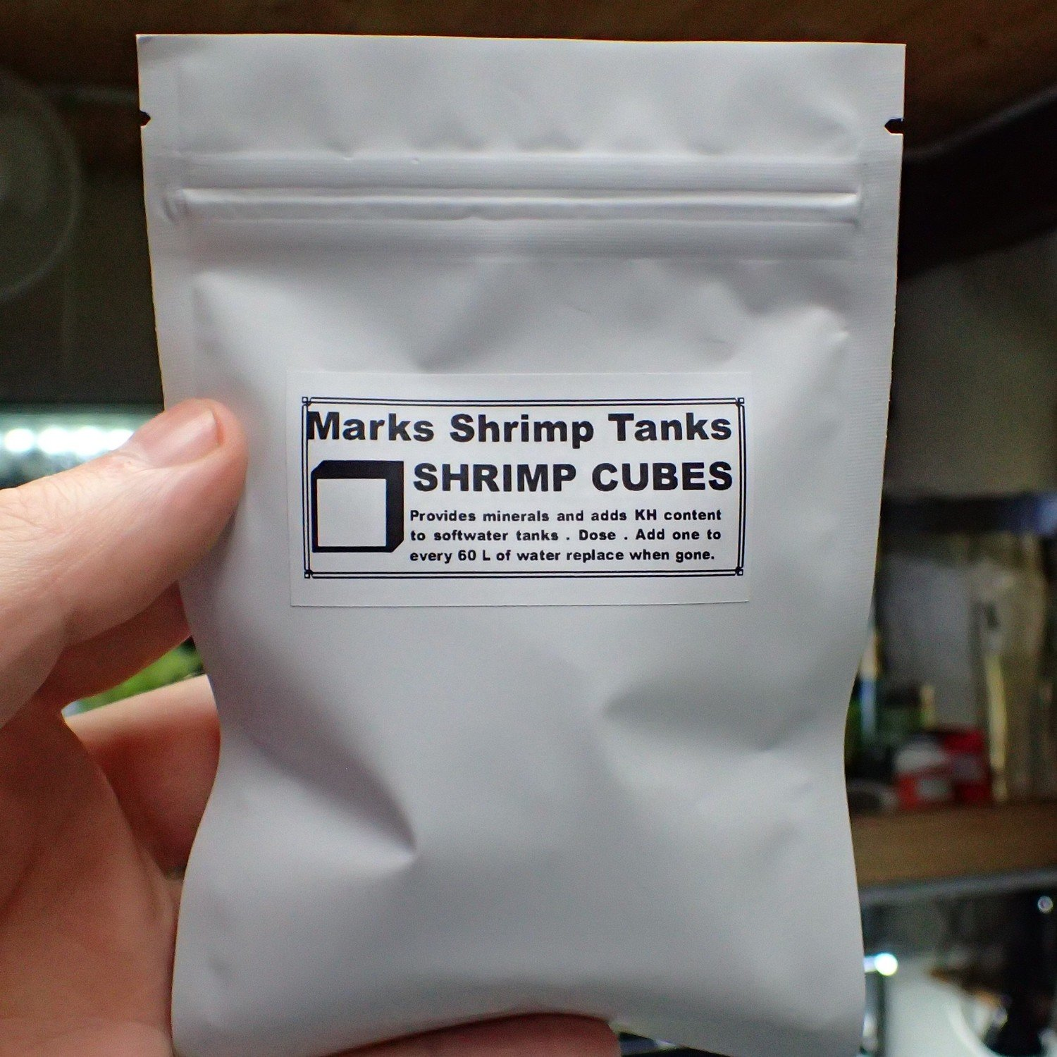 Shrimp N Snail Mineral Cubes 30 In a Pack