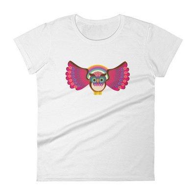 Owl Rainbow Women's short sleeve t-shirt