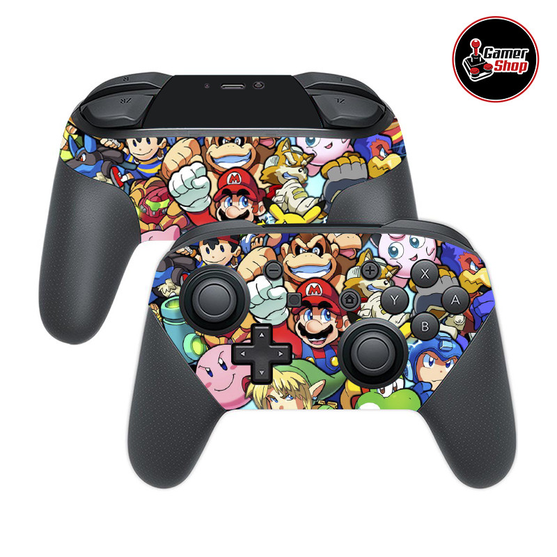 Skin Switch Pro Controller