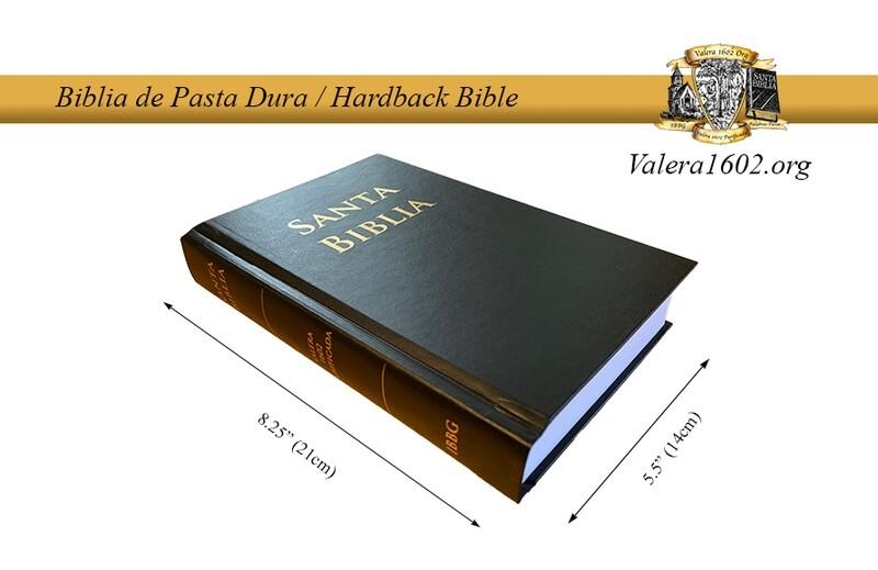 Biblia Dura / Hardback Bible