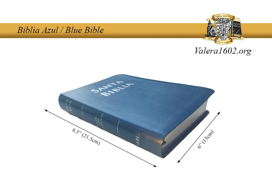 Biblia Azul / Blue Bible