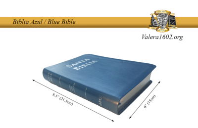 Biblia Azul / Blue Bible