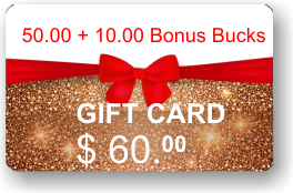 ViewIT Gift Card  Value: $50.00 + 10.00
