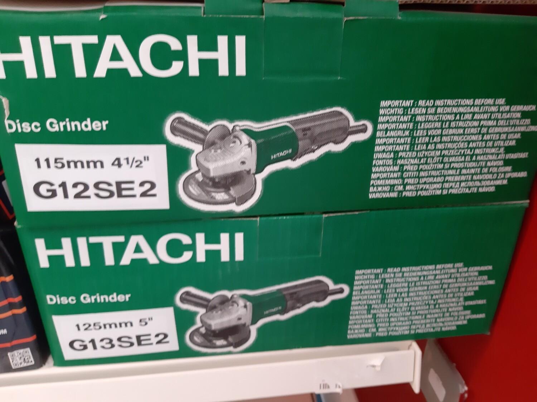 """Hitachi 110V 5"""" Hand Grinder"""