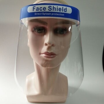 SPLASH FACE SHIELDS 10Pk