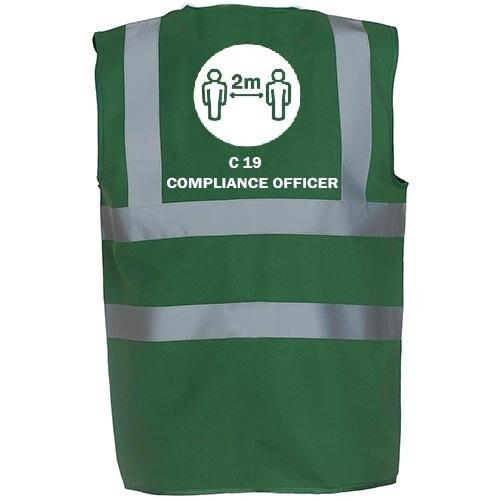 10X COVID-19 COMPLIANCE VEST