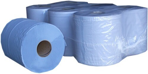 BLUE CENTREFEED BLUE ROLL PACK X6