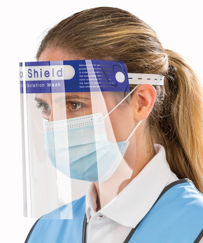 SPLASH FACE SHIELDS 10Pk