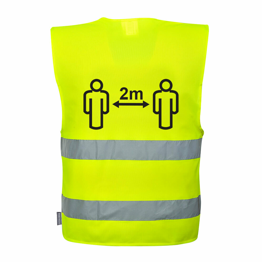 10X Hi-Vis Social Distancing Vest 2m